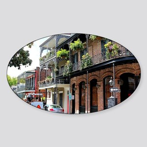 French Quarter Street Sticker